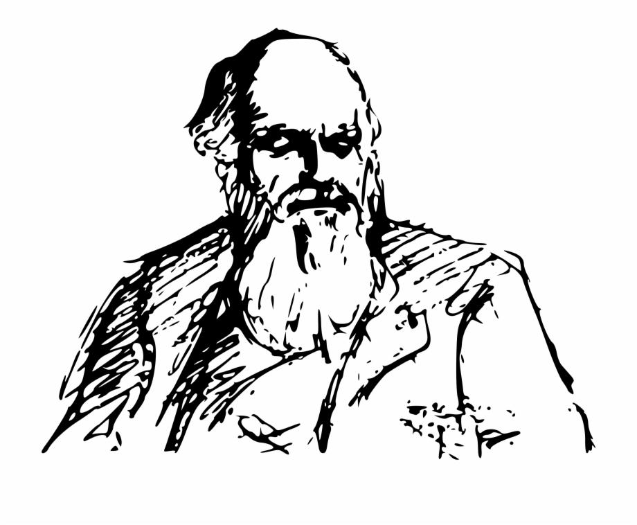 Charles darwin clipart png transparent stock Drawing Beard Pencil - Drawing Of Charles Darwin Free PNG Images ... png transparent stock