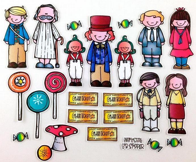 Charlie and the chocolate factory grandpa joe clipart clip art freeuse Charlie and the Chocolate Factory Felt Board Story Set | Melonheadz ... clip art freeuse