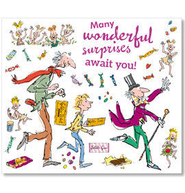 Roald dahl charlie and the chocoloate factory clipart picture transparent library Charlie & the Chocolate Factory Wall Decal Set picture transparent library