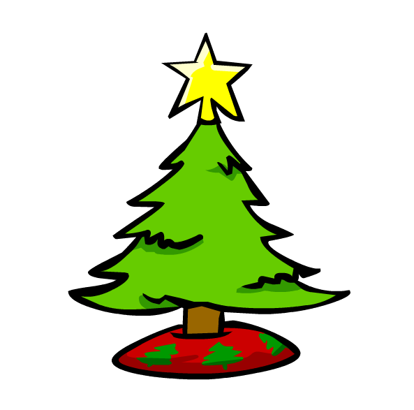 Clipart of christmas png black and white library Small Christmas Trees – Happy Holidays! png black and white library