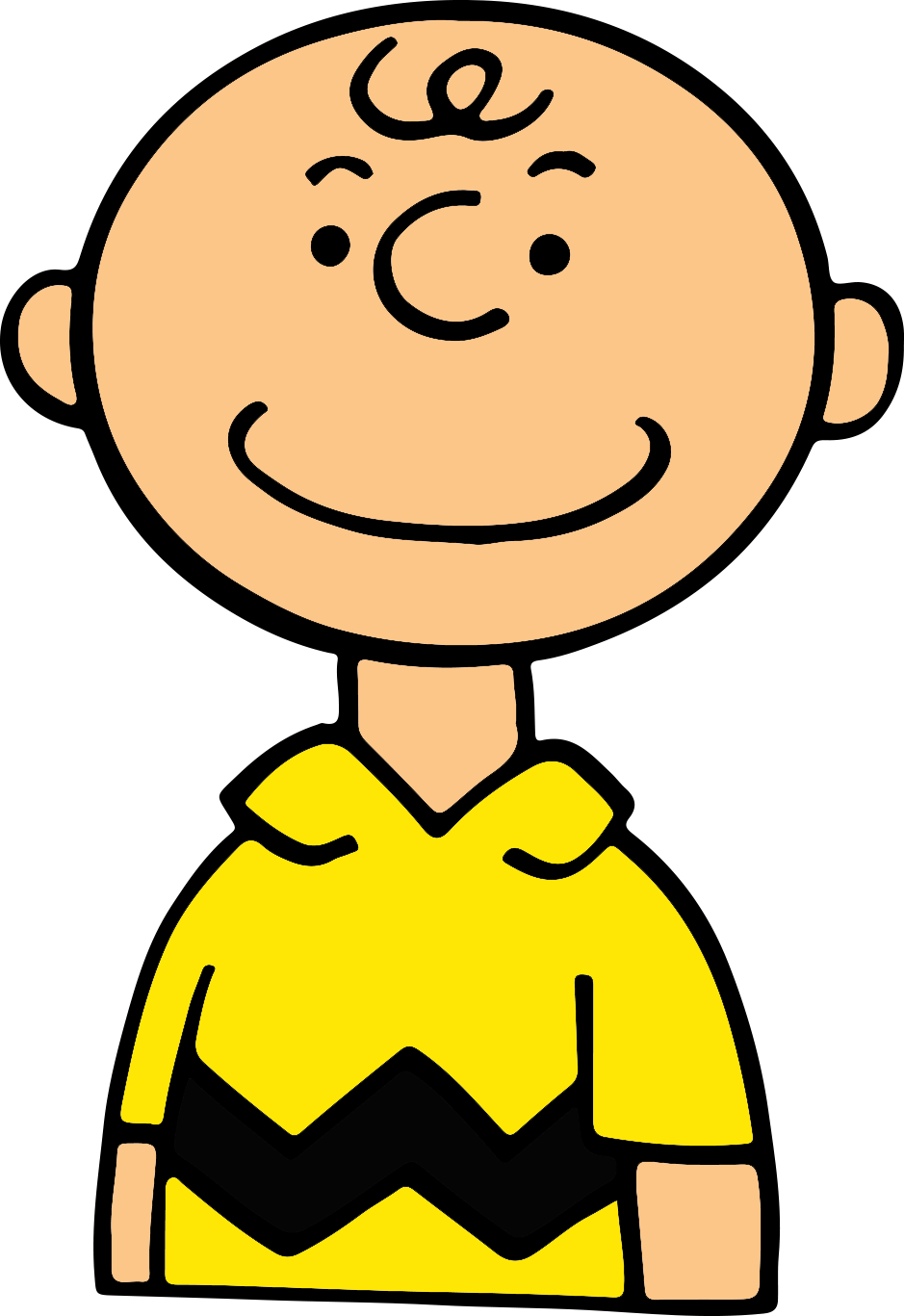 Charlie brown halloween clipart png black and white Creative Playground: Directed Drawing: Charlie Brown in 9 Steps! png black and white