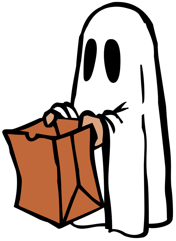 Happy halloween ghost clipart image transparent download How to be Last-Minute Halloween Ghouls – Oakton Outlook image transparent download