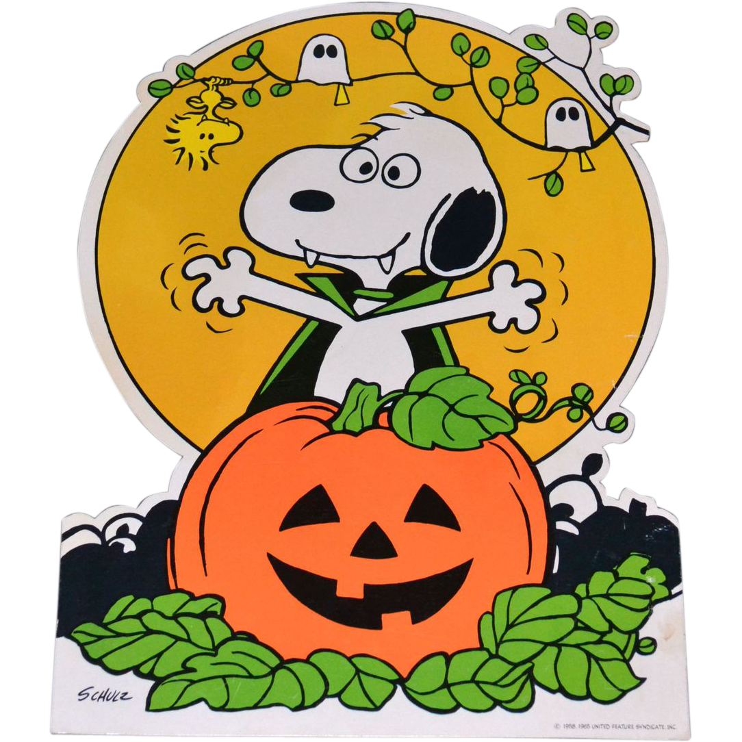 Halloween charlie brown day clipart png black and white library 28+ Collection of Peanuts Clipart Halloween | High quality, free ... png black and white library