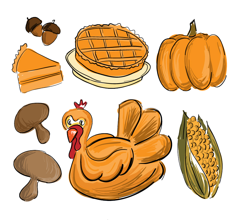 Clipart thanksgiving dinner stock Thanksgiving Dinner Drawing at GetDrawings.com | Free for personal ... stock