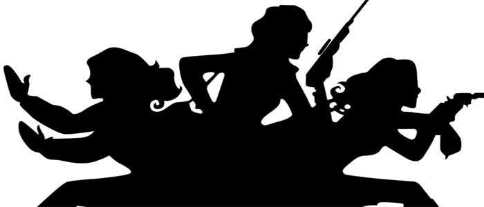 Charlie-s angels silhouette clipart vector free library Dynamite Is Bringing Charlie\'s Angels to Comics vector free library