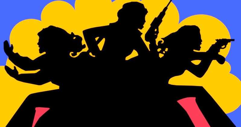 Charlie-s angels silhouette clipart png royalty free download Charlie\'s Angels Reboot Gets a New Release Date png royalty free download