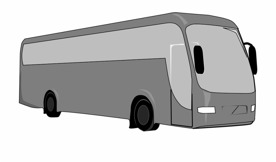 Clipart coach bus