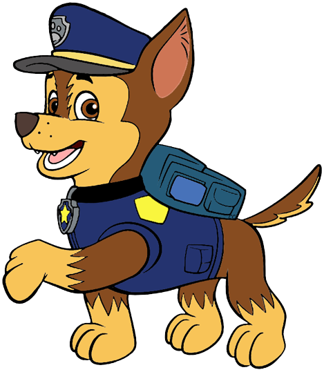 Chase clipart picture black and white library Paw Patrol Clip Art Images | Cartoon Clip Art picture black and white library