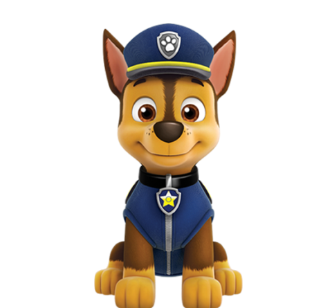 Chase head paw patrol clipart picture Paw Patrol Birthday picture