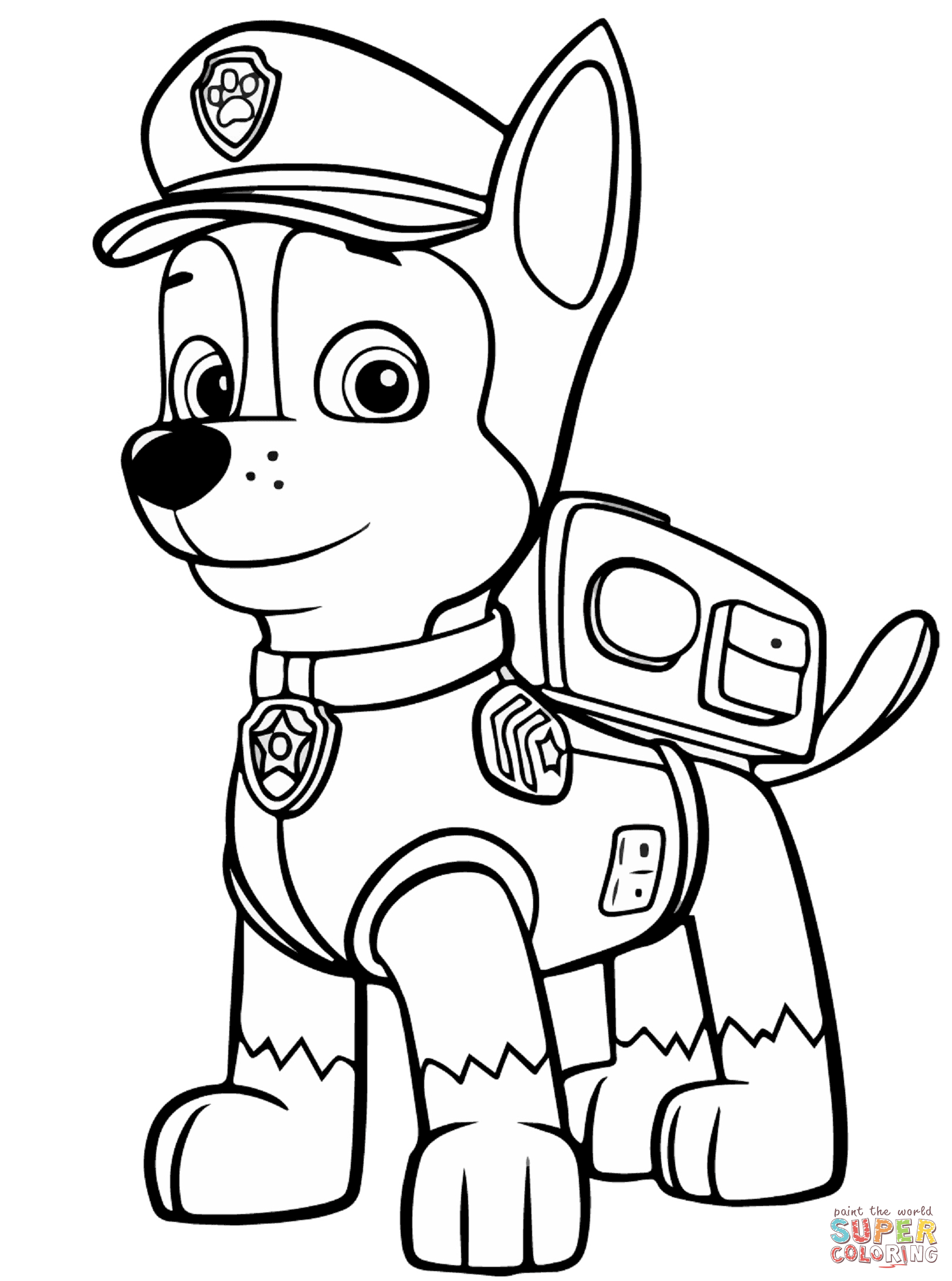 Clipartfest click the . Chase paw patrol clipart