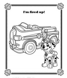 Chase the dog from paw partols clipart coloring page svg stock Paw patrol coloring pages | Disney, Coloring and Pumpkins svg stock