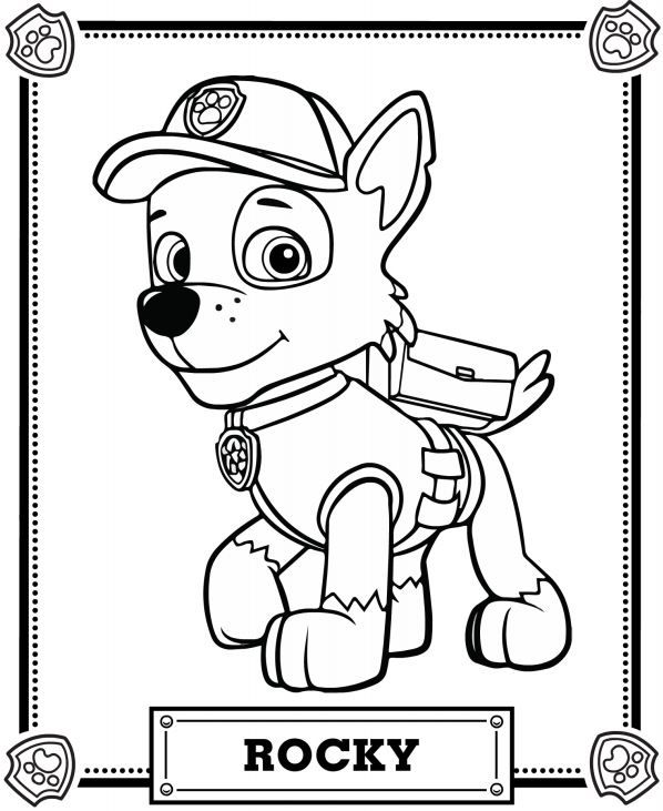 Chase the dog from paw partols clipart coloring page png transparent 17 Best images about Paw Patrol on Pinterest | Paw patrol rocky ... png transparent