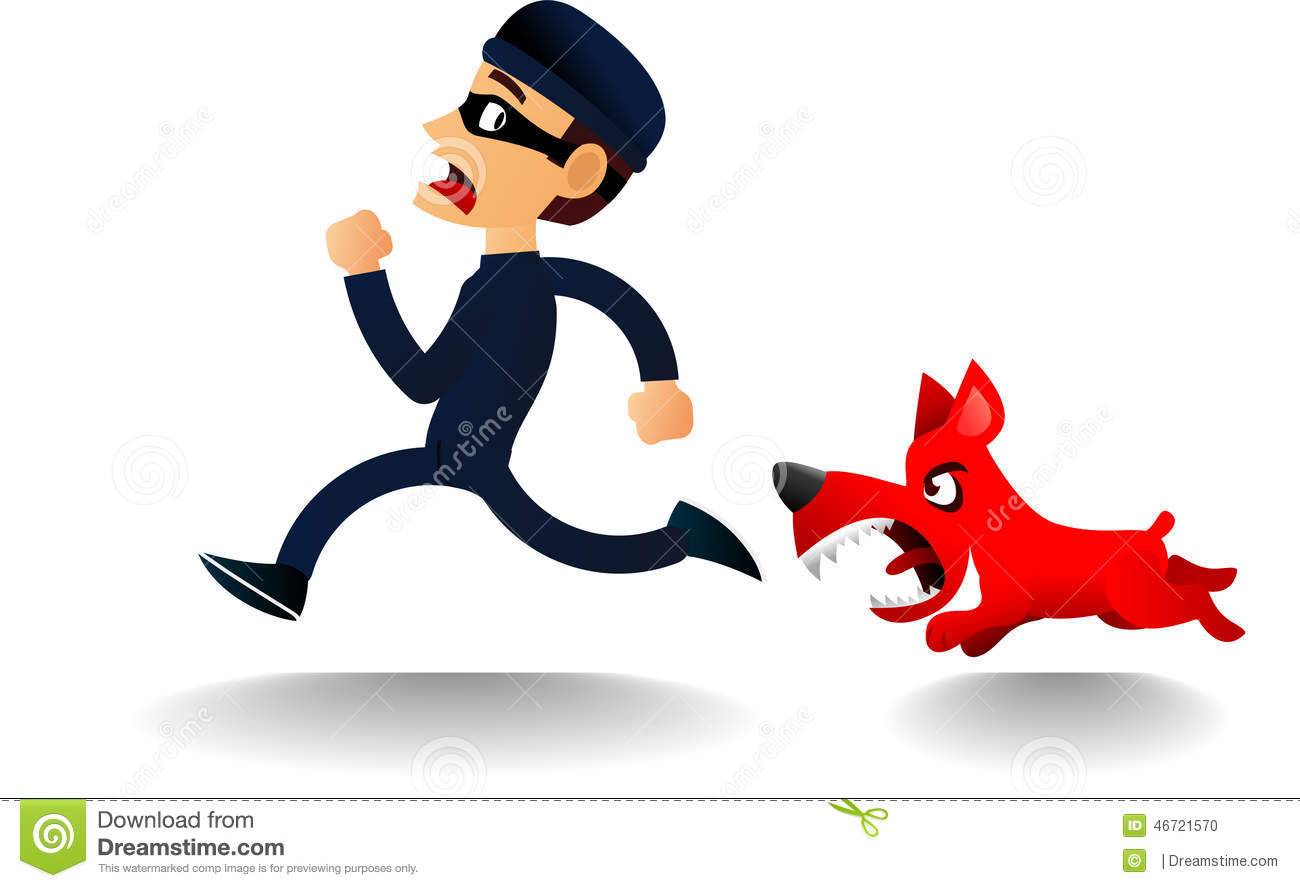 Chase the police dog clipart banner free stock Police Chasing Thief Stock Vector - Image: 55114265 banner free stock