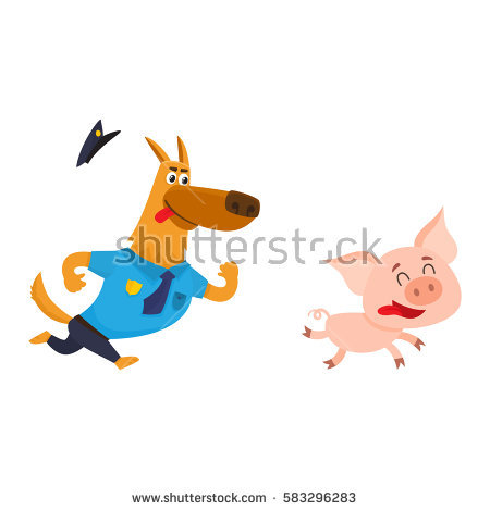 Chase the police dog clipart clip art freeuse library Police Chase Stock Photos, Royalty-Free Images & Vectors ... clip art freeuse library