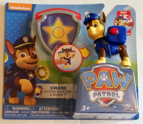 Chase the police dog clipart graphic free stock Paw Patrol Action Pack Pup Badge Chase Police Dog Policeman ... graphic free stock
