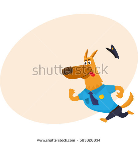 Chase the police dog clipart picture download Dog Chasing Tail Stock Photos, Royalty-Free Images & Vectors ... picture download