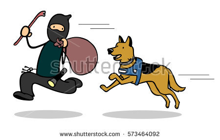 Chase the police dog clipart clip free download Dogs Chasing Man Stock Images, Royalty-Free Images & Vectors ... clip free download