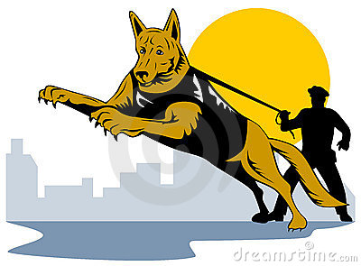 Chase the police dog clipart picture freeuse download Policeman Stock Illustrations – 5,047 Policeman Stock ... picture freeuse download