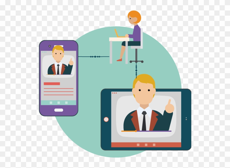 Chat online clipart image freeuse Delivering Lectures Online Using Video Chat - Video Lectures Online ... image freeuse