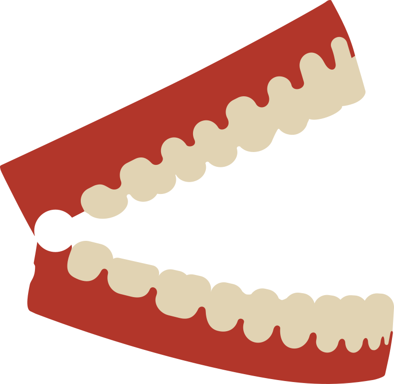 Chattering teeth clipart clip download Free Clipart: Chattering teeth   PrinterKiller clip download