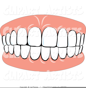 Chattering teeth clipart transparent Animated Chattering Teeth Clipart   Free Images at Clker.com ... transparent