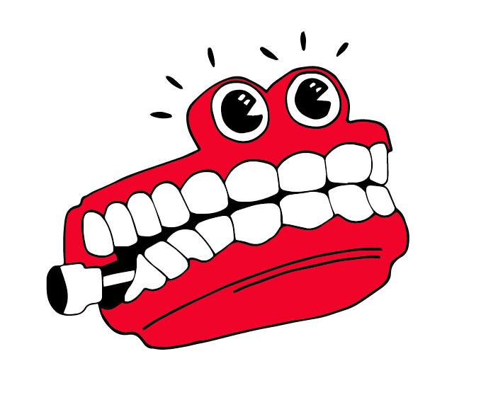 Chattering teeth clipart jpg royalty free stock Design Practice : YCN Interflora Grandparents Day- Chattering Teeth ... jpg royalty free stock