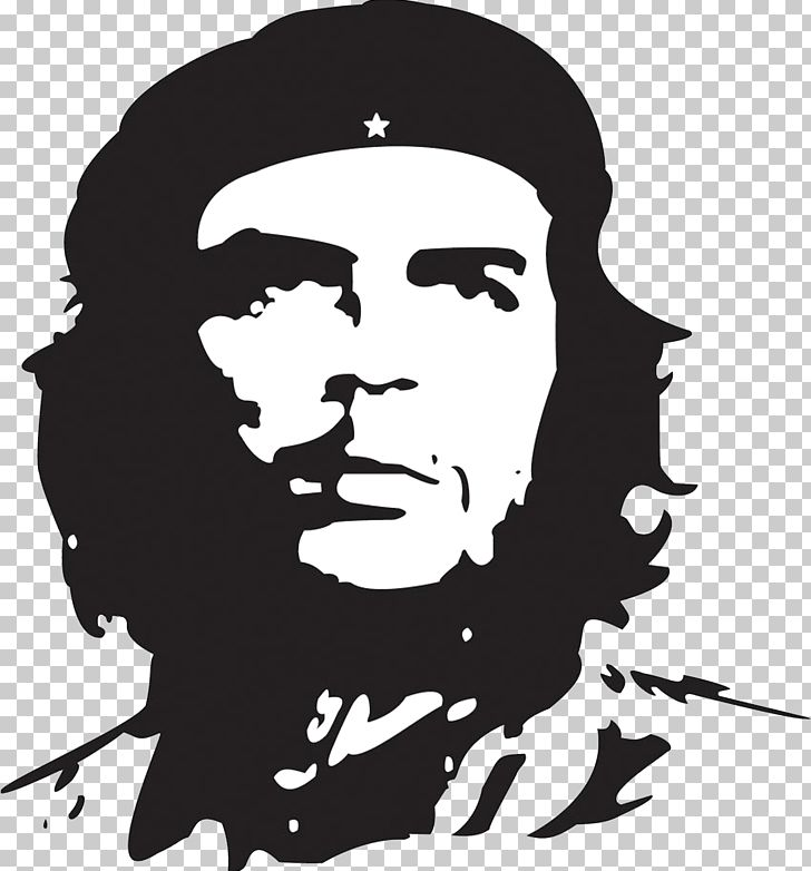 Che clipart graphic transparent download Che Guevara Cuban Revolution T-shirt PNG, Clipart, Art, Black And ... graphic transparent download
