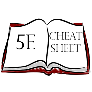 Cheat Sheet for 5e - Android Apps on Google Play clip art free library