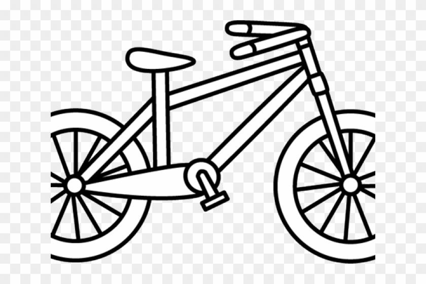 Check bike tires clipart black and white vector Biker Clipart Black And White - Bike Clipart Black And White, HD Png ... vector