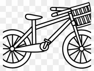 Check bike tires clipart black and white image royalty free library Free PNG Bicycle Clip Art Download , Page 5 - PinClipart image royalty free library