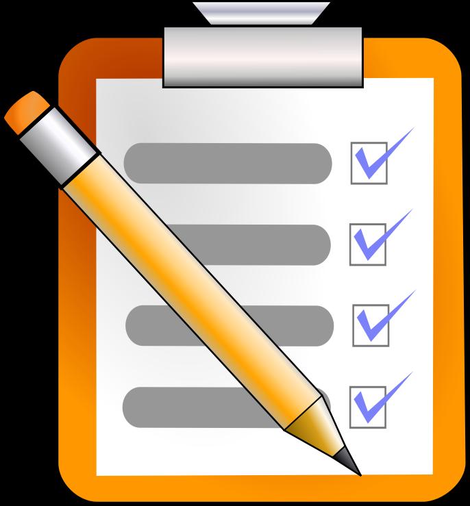 Check list clip art graphic stock Checklist Clipart - Clipart Kid graphic stock