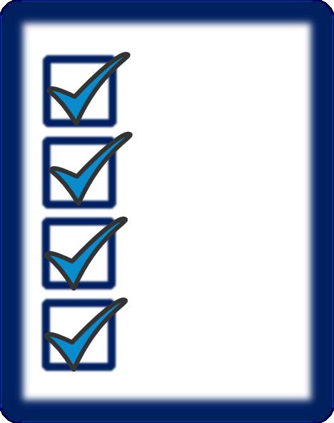 Check list clip art clipart transparent stock Checklist Clipart - Clipart Kid clipart transparent stock