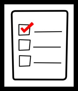 Check list clip art clip art freeuse stock Checklist 20clipart | Clipart Panda - Free Clipart Images clip art freeuse stock