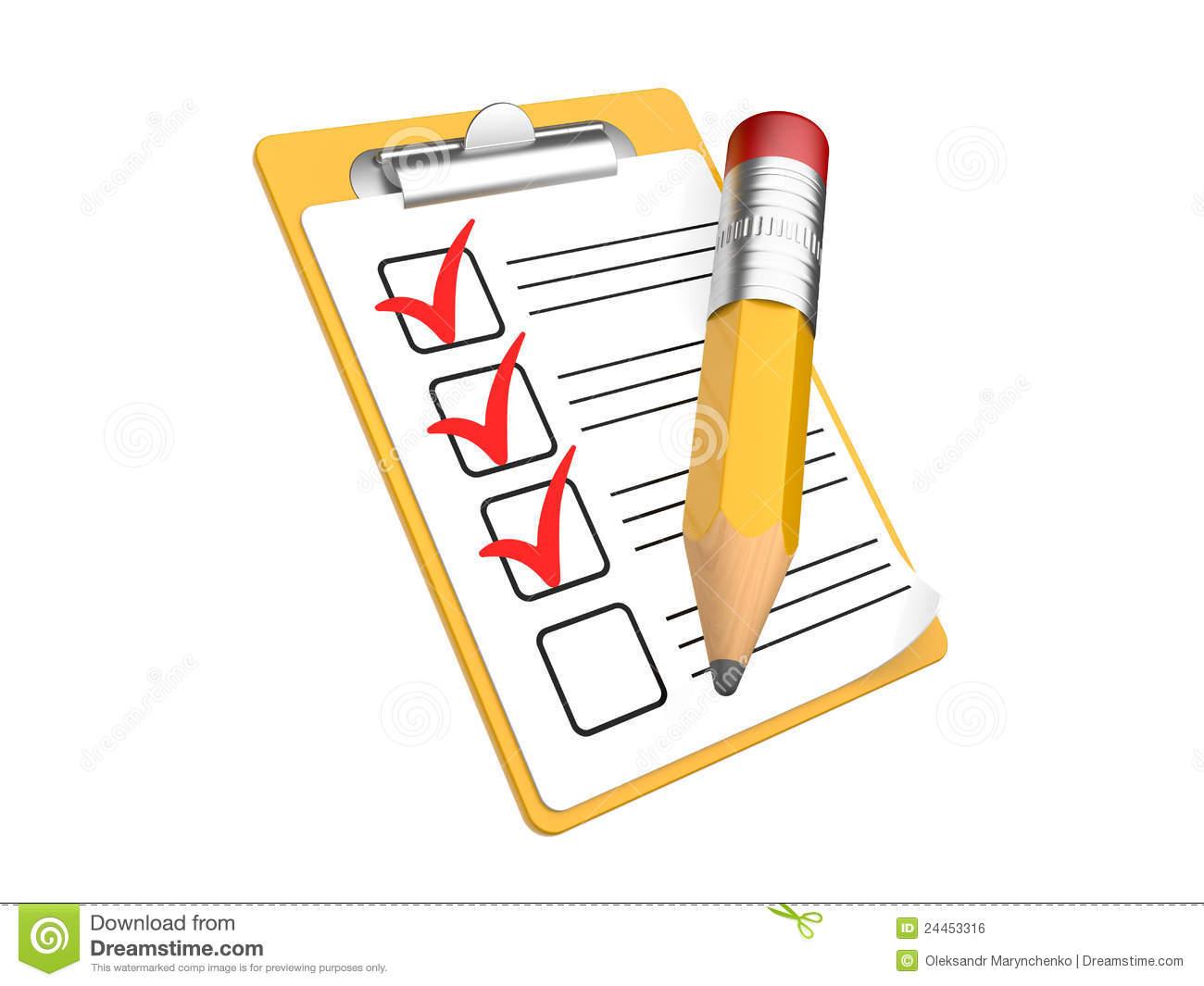 Check list clip art vector freeuse stock Writing checklist clipart - ClipartFest vector freeuse stock