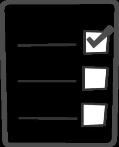 Check list clip art graphic transparent download Checklist 20clipart | Clipart Panda - Free Clipart Images graphic transparent download