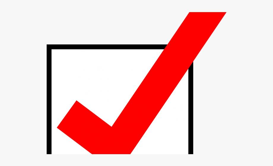 Voter checkbox clipart picture download Vote Clipart Check Mark - Box With Red Check Mark #116408 - Free ... picture download
