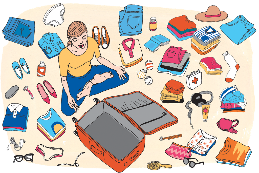 Packed car clipart svg freeuse How to Pack a Suitcase - Travel Guides - The New York Times svg freeuse