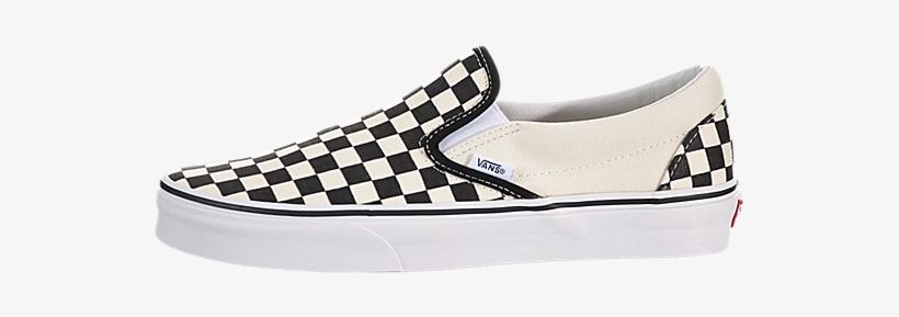 Checker board vans clipart clipart download Vans Classic Slip On - Vans Classic Slip-on Black / White ... clipart download