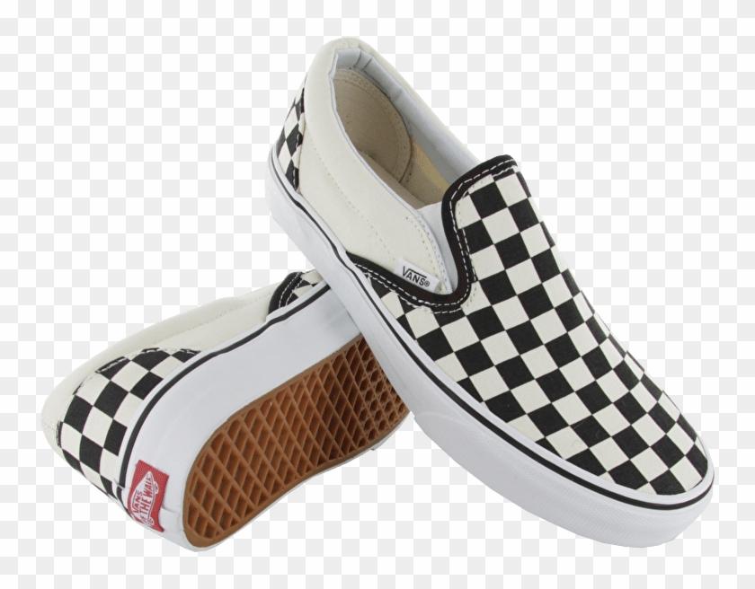 Checker board vans clipart clip art royalty free stock Transparent Vans Checkered - Checkerboard Slip Ons Png, Png Download ... clip art royalty free stock