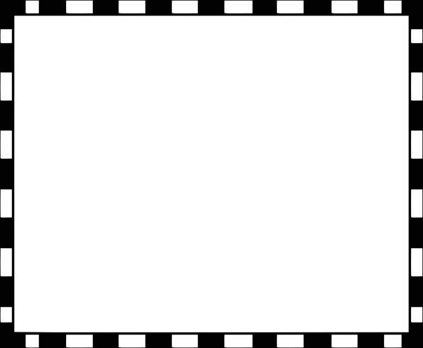 Checker border black and white clipart free transparent stock Checkered Border Clipart   Free download best Checkered Border ... transparent stock