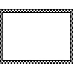 Checker border black and white clipart free clip free Free Checkered Border Cliparts, Download Free Clip Art, Free Clip ... clip free
