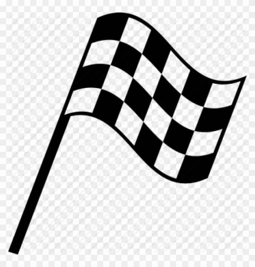 Racing flags clipart clipart black and white stock Race Flag Clipart Transparent Checkered Flag Encode - Clip Art ... clipart black and white stock