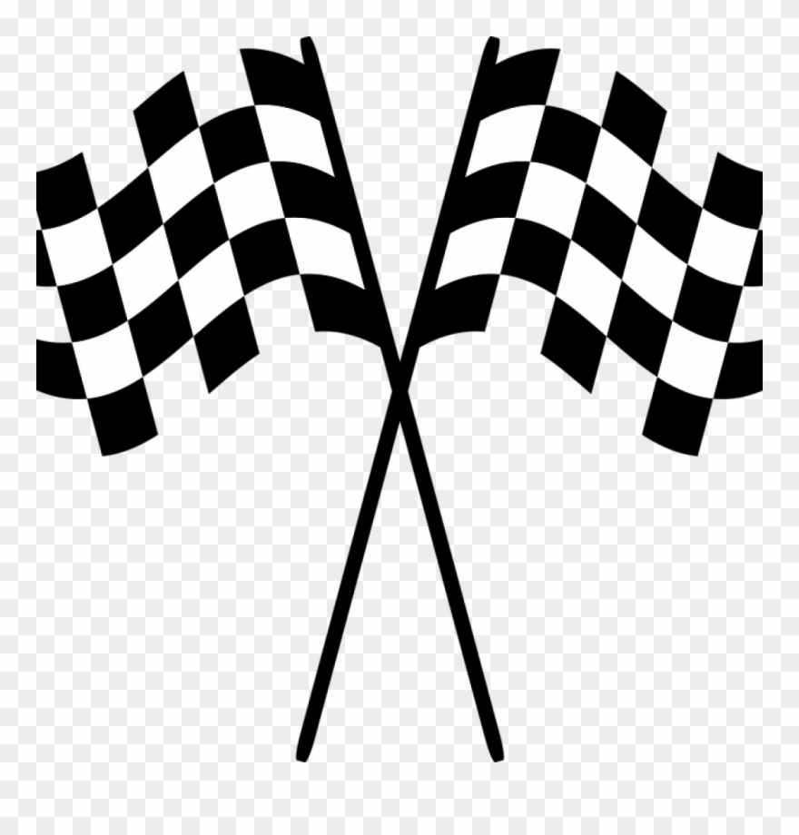 Vector flags race . Free checkered flag clipart