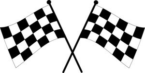 Raceflag clipart picture royalty free download Checkered Flag Clip Art & Look At Clip Art Images - ClipartLook picture royalty free download