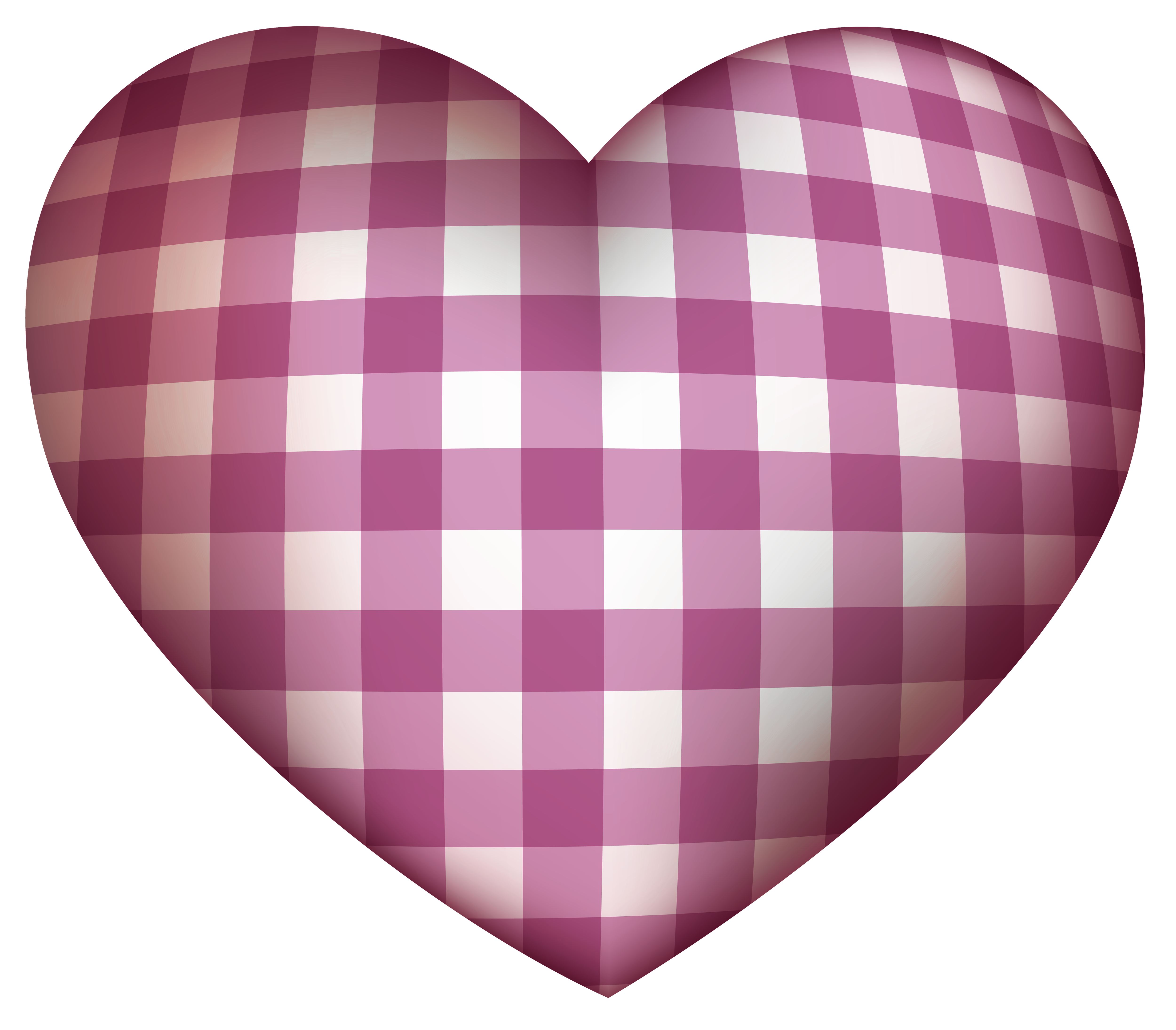 Checkered Heart PNG Clipart - Best WEB Clipart graphic free library
