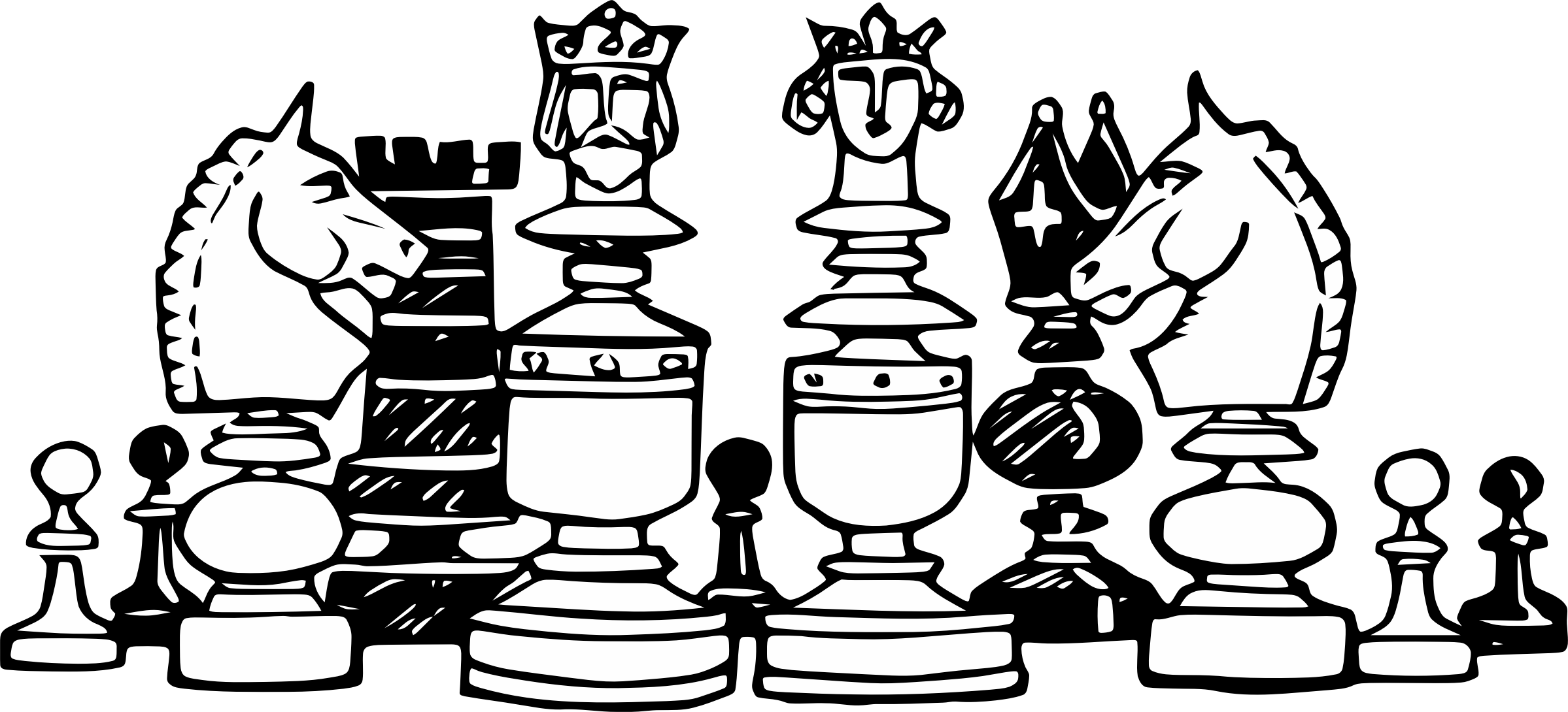 Checkers crown clipart clip stock 28+ Collection of Playing Chess Clipart Black And White | High ... clip stock