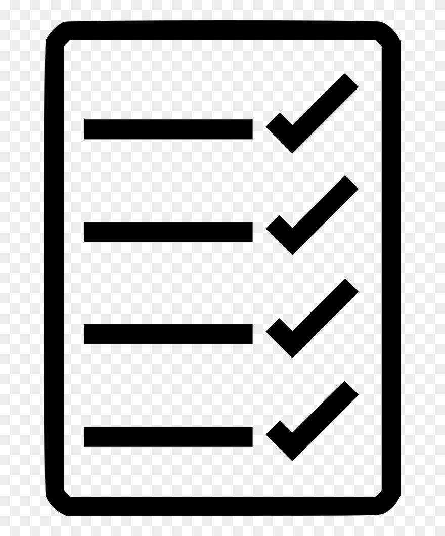 Checklist clipart transparent graphic download Checklist Png Clipart Computer Icons - Icon Transparent Png (#710789 ... graphic download