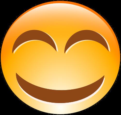Cheeky clipart clipart free stock Vector clip art of orange cheeky smiley | Public domain vectors clipart free stock