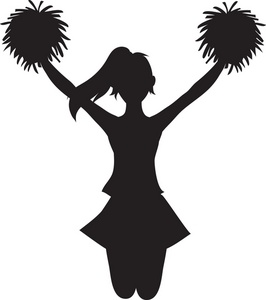 Cliparts download clip art. Free cheerleader clipart