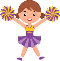 Cheer clipart png free Free Cheerleading Clipart - Clip Art Pictures - Graphics - Illustrations png free